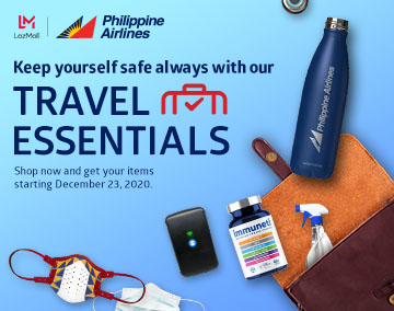 PAL LazMall New Normal Travel Essentials Mobile Image