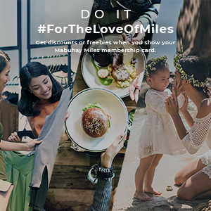 Get discounts or freebies when you shop, dine, and unwind with our partners. Do It #ForTheLoveOfMiles