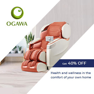 Ogawa mobile banner with 40% off offer