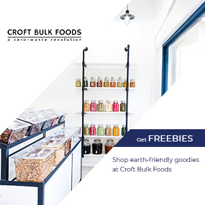 Shop for 100% plant-based and earth-friendly goodies at Croft Bulk Foods