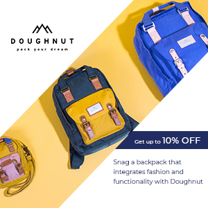 Snag a backpack that integrates fashion and functionality with Doughnut