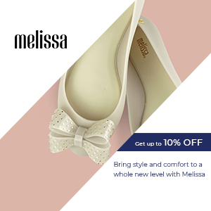 Bring style and comfort to a whole new level with Melissa
