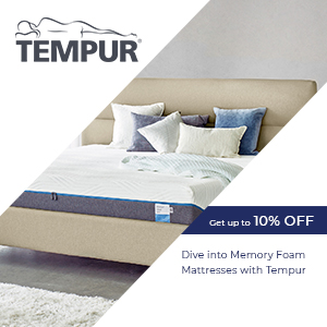 Tempur Mobile Image Get up to 10% off