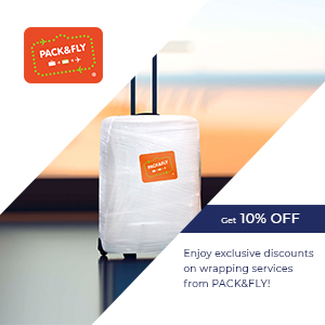 Enjoy exclusive discounts from Pack and Fly