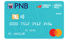 PNB-PAL Mabuhay Miles OFW Savings Debit Mastercard